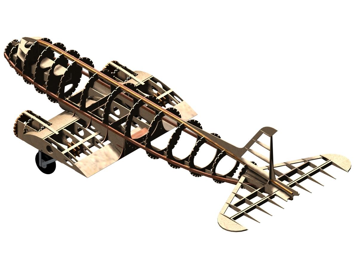 Dc3 fuselage partie centrale 2 6000x4500