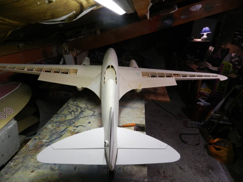 Empennage fini