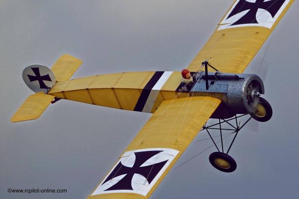 Fokker e1 en vol
