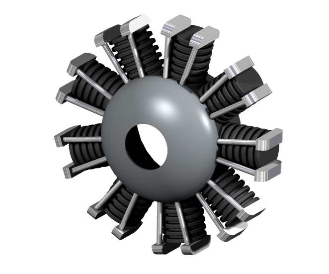 Metalplane moteur bd
