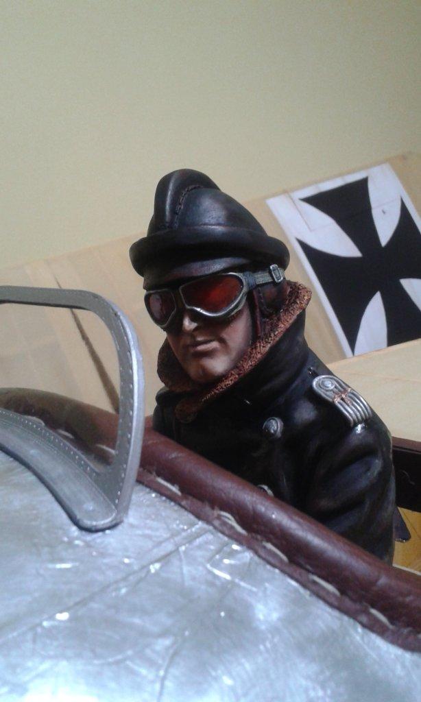 Pilote du fokker e1