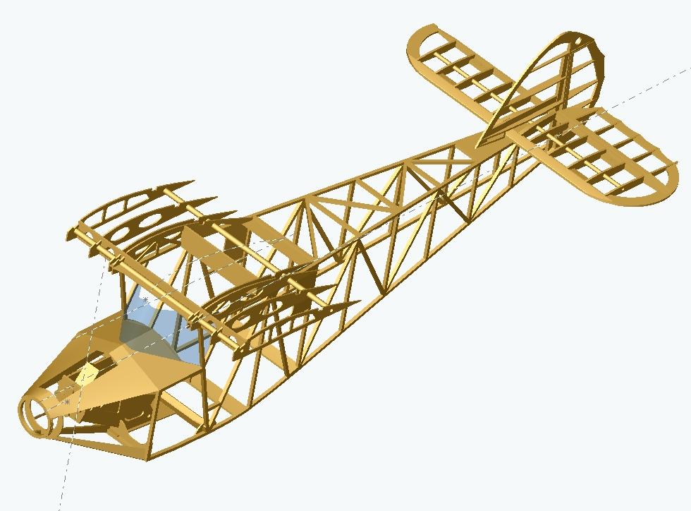 Potez 36 fuselage 2