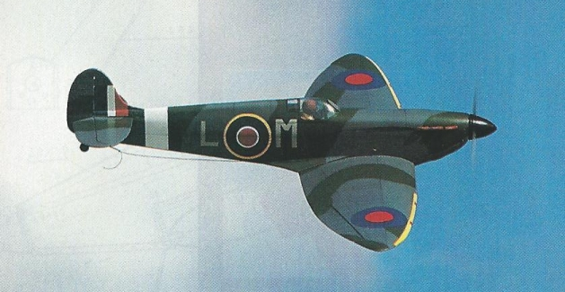 Spitfire looping